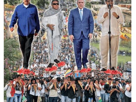 ¿Insurrección en Colombia, efecto Santrich-Maduro?