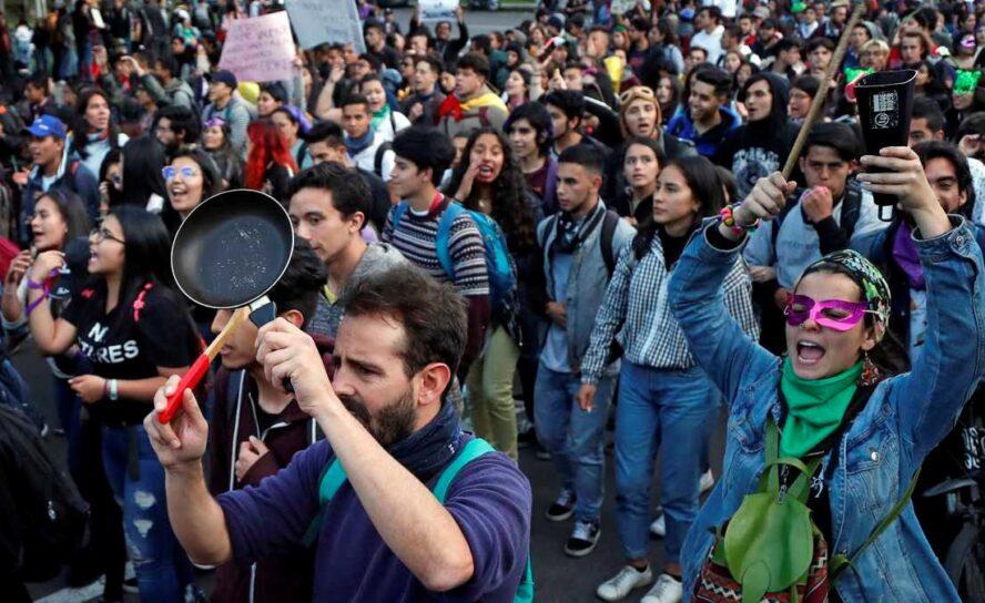 75%: que sigan las marchas en Colombia: Mobimetrics.co