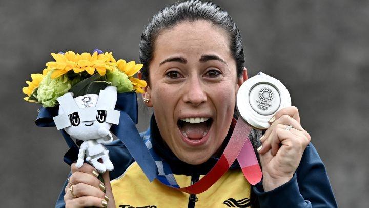 En BMX Tokio 2020 Plata y bronce para Colombia: Mariana y Carlos