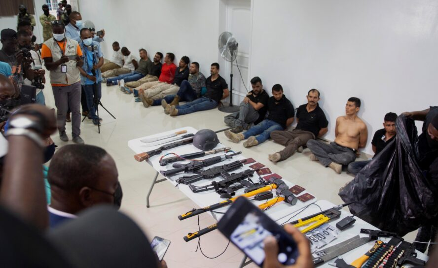 Confusión entre militares pensionados y Haití en magnicidio Jovenel