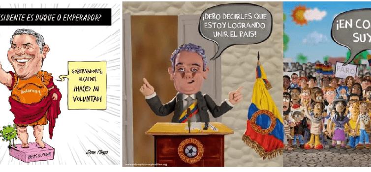 Santanderismo en Duque: anti vandalismo para anti reformas