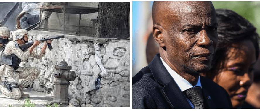 Ex militares colombianos involucrados en el asesinato del Presidente de Haití