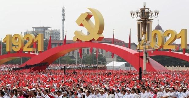 100 años del PCC ¡Camaradas unidos, jamás serán vencidos!