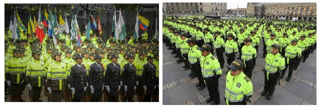 Vuelve la guardia romana a cuidar las puertas de Bogotá