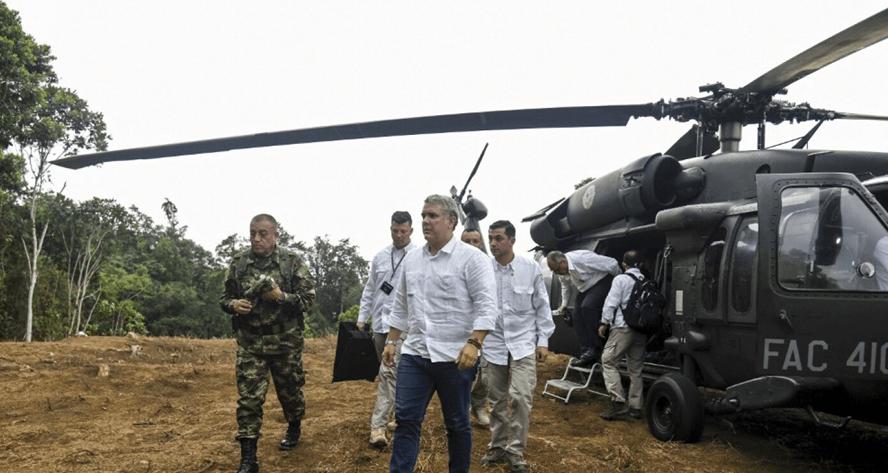 'Atentado contra Duque se planificó desde Venezuela'