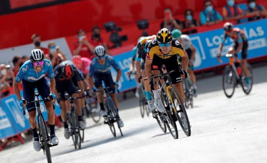 Roglic ganó la etapa 11 de la Vuelta 21. Eiking sigue líder