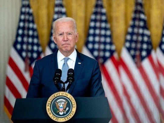 Declaraciones de Biden, en Afganistán gobierna el taliban. Una guerra sin pelea