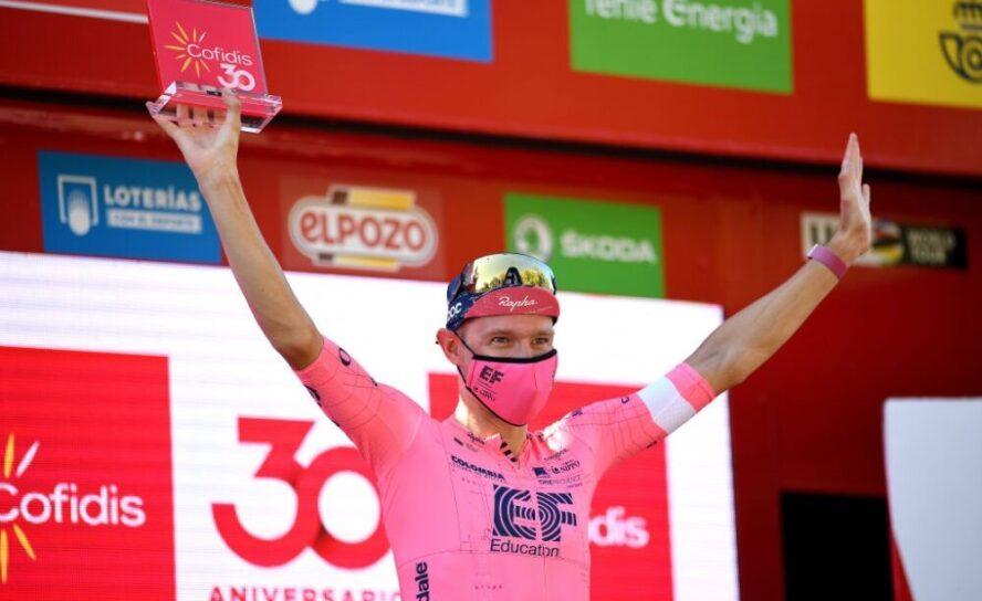 La 12ª Etapa, la segunda de la Vuelta 21 para Nielsen