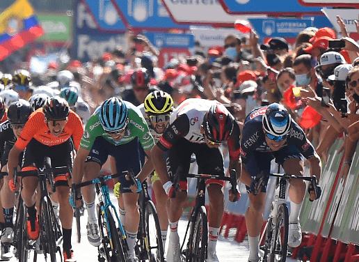 Juan Sebastián Molano, 4º  en la 2ª  etapa de la Vuelta a España