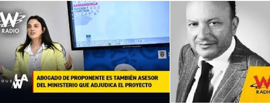 Es que fallamos, el Ministerio falló: Abudinen. El periodismo salvó un mayor daño