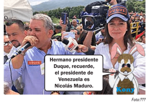 Sigue picando pleitos, llueve en la frontera con Maduro y salta